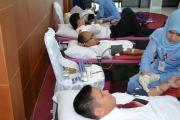Dokumentasi Kegiatan Donor Darah KPPN Pandang
